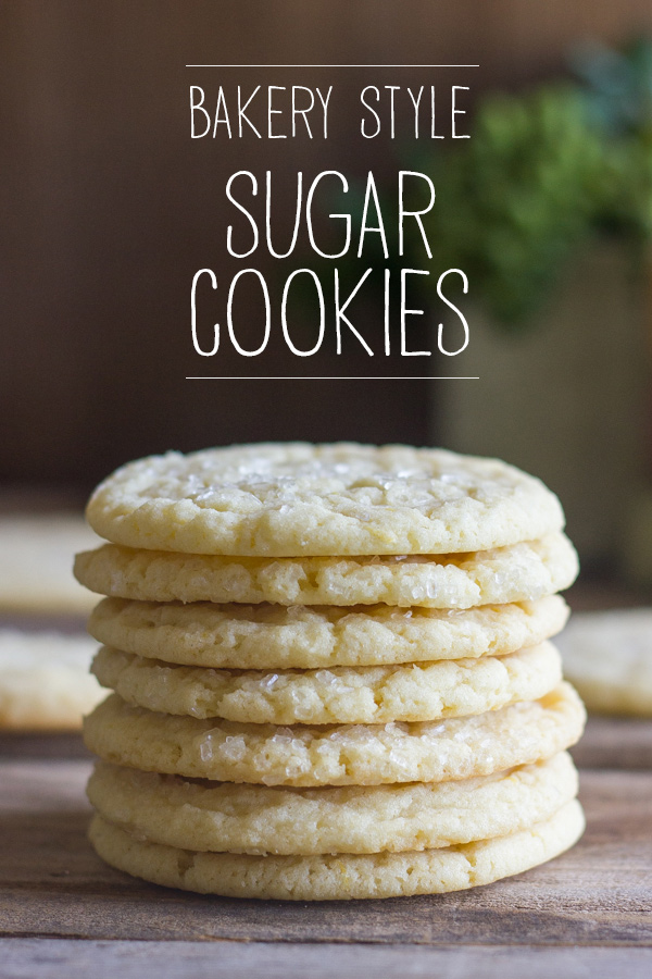 Bakery Style Sugar Cookies - Lovely Little Kitchen