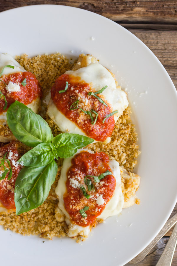 Easy Chicken Parmesan With Toasted Panko - classic Chicken Parmesan flavor made easier with a tasty shortcut!