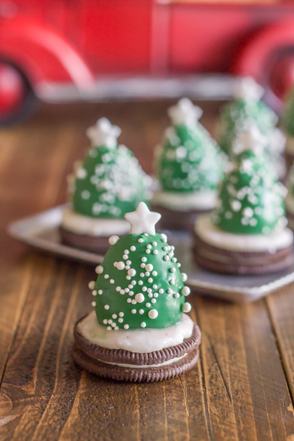 Chocolate Covered Strawberry Christmas Trees - a fun and easy Christmas project to do with your kiddos!