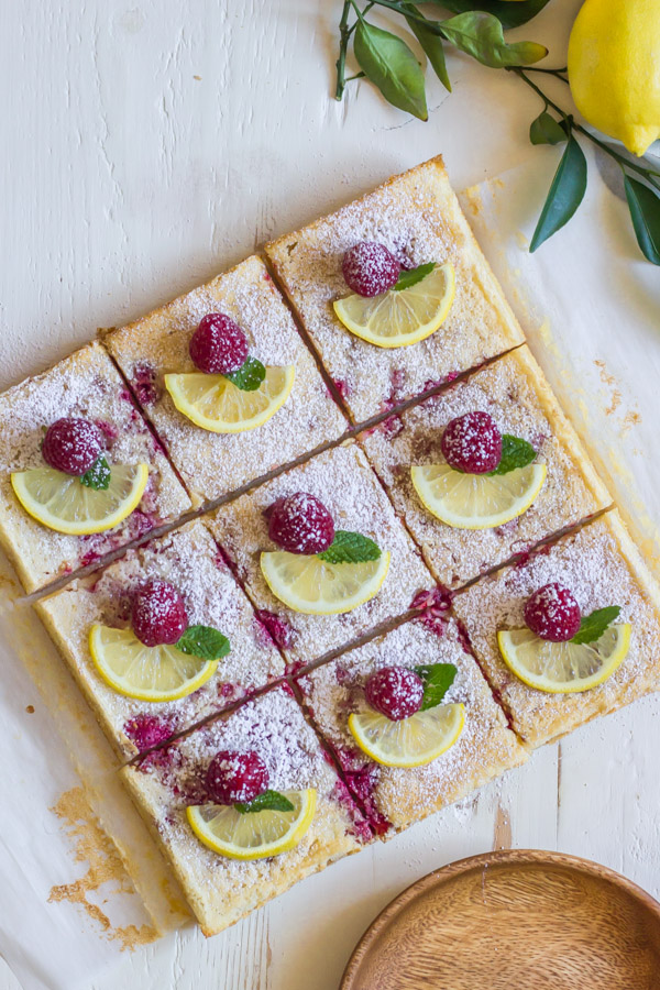 raspberry lemon bars lovely little kitchen
