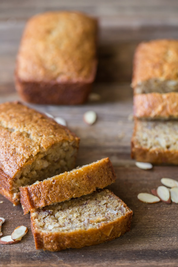 Healthier Banana Bread - Our favorite banana bread made with Greek yogurt, coconut oil, and white whole wheat flour.