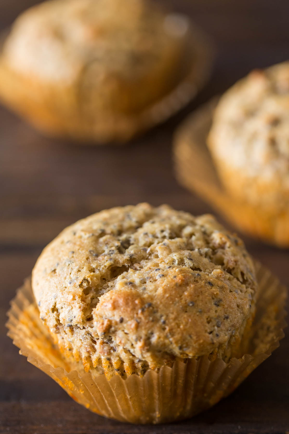 These Honey Bran Muffins are wholesome and delicious, the perfect base for a generous slathering of butter and jam!