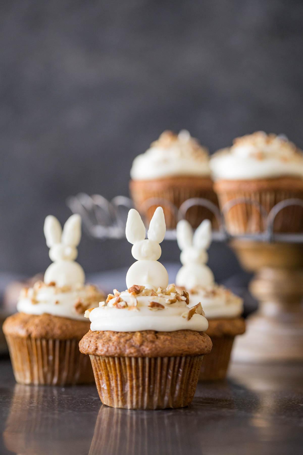 Nut Free Carrot Cake Cupcakes